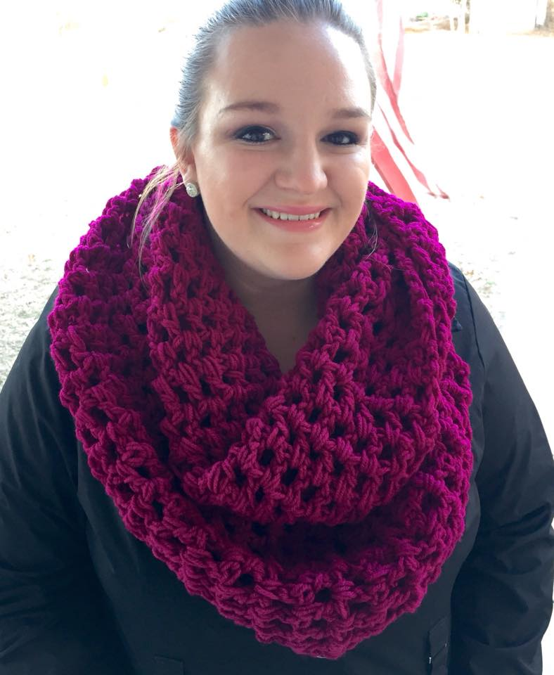 Chunky Scarf Pattern Using A Double Crochet Jackatessas Blog